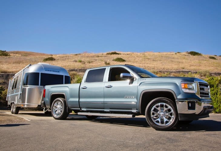 Chevy Silverado, GMC Sierra 2015 towing capacity