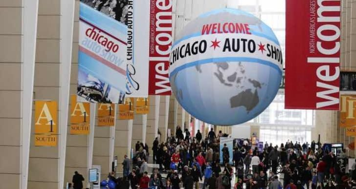 2015 Chicago Auto Show press days for early teases