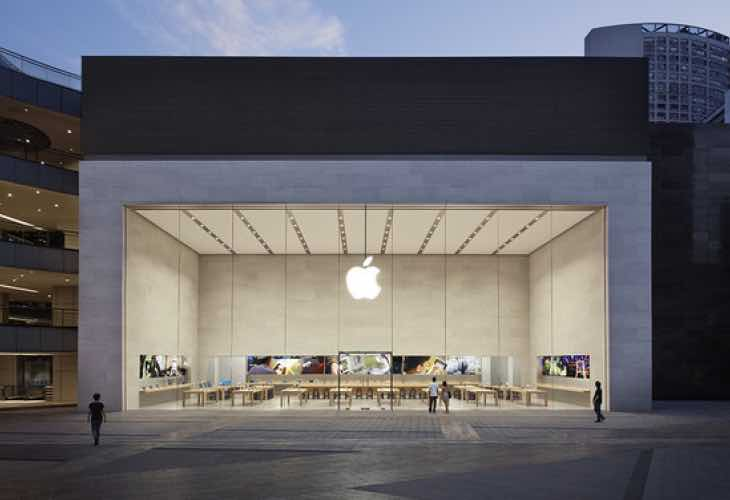 Chongqing Apple Store opening in China