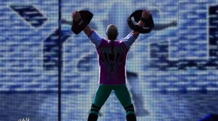 WWE 2K14 entrances for characters
