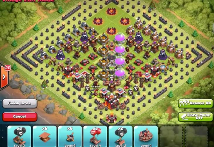 Christmas-tree-base-layout-Clash-of-Clans
