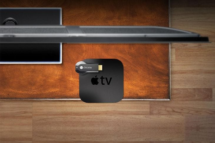 Chromecast-AppleTV