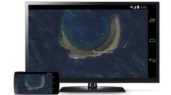 Chromecast updated today, on par with Apple TV