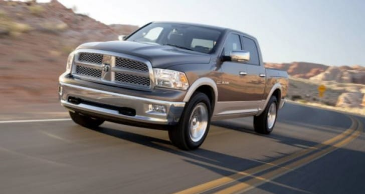 Chrysler list of recalls includes Ram, Dodge Dakota