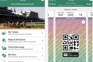 Kentucky Derby 2016 app for leaderboard contenders