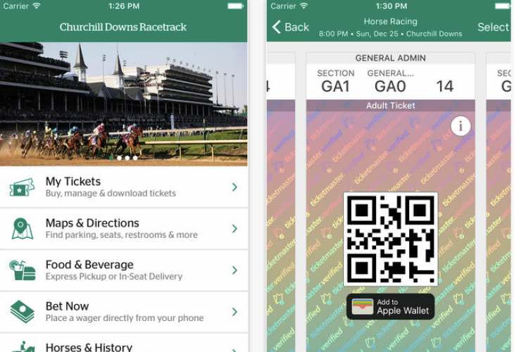 Churchill Downs Racetrack app