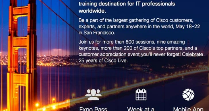 Cisco Live 2014 iPad, iPhone, and Android app