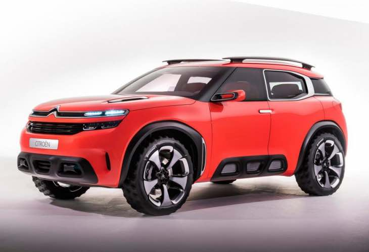 Citroen Aircross concept uncovers future models