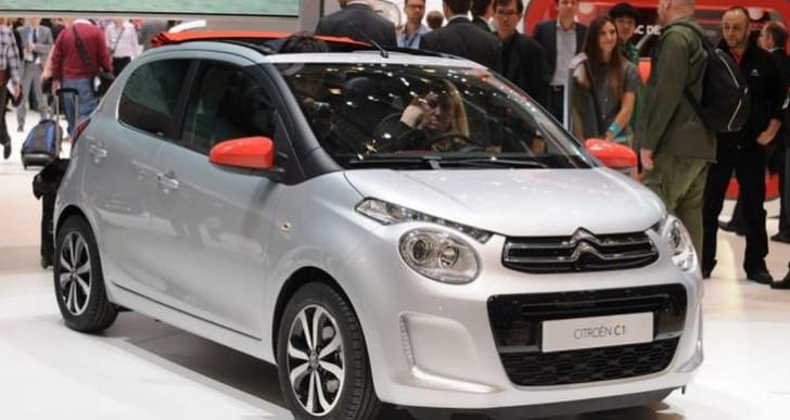 Citroen C1: 2014 Geneva Motor Show debut with price and specs