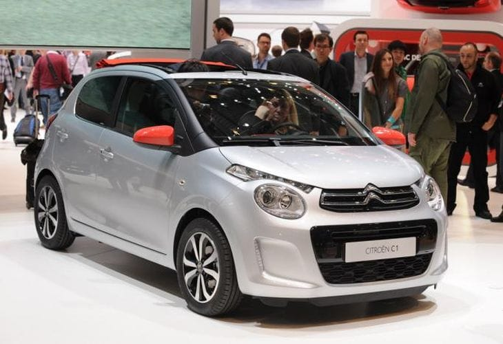 citroen c1 2014 geneva motor show debut with price and specs product reviews net. Black Bedroom Furniture Sets. Home Design Ideas