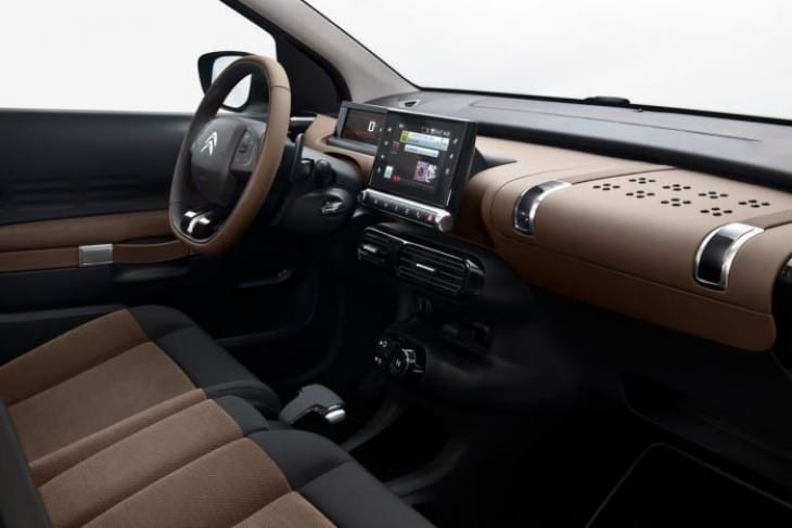 Citroen C4 Cactus 2014 interior
