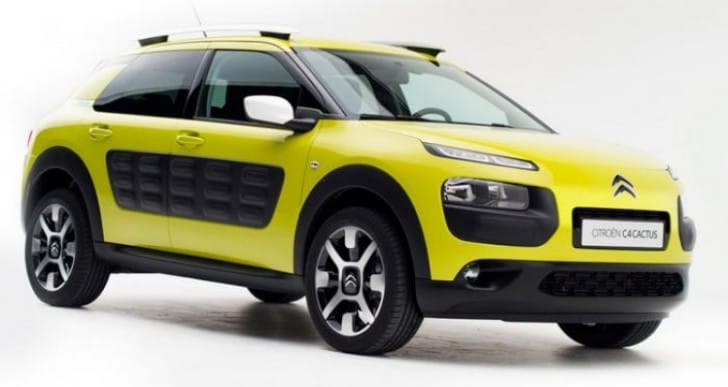 Citroen C4 Cactus 2014 price and features excitement