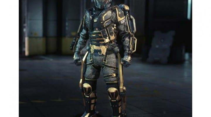 COD Clan Wars Centurion gear with caution