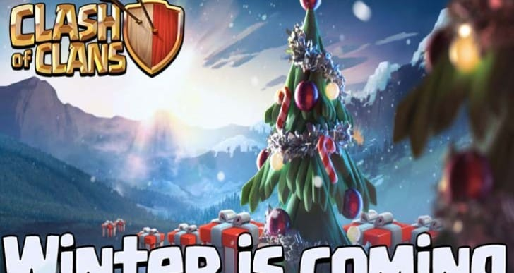 Clash of Clans Winter update notes live