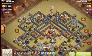 Clash of Clans GoWiPe strategy for TH8 and TH10