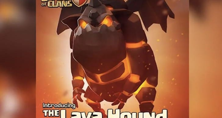 Clash of Clans Lava Hound strategy