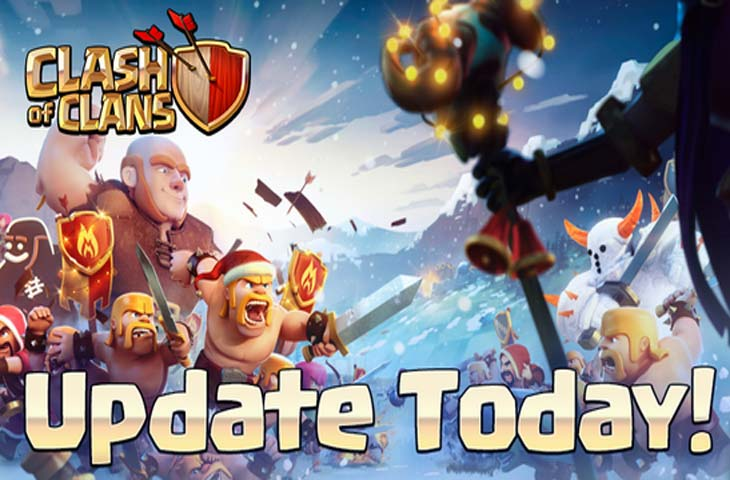 clash of clans winter update notes live product reviews net. Black Bedroom Furniture Sets. Home Design Ideas