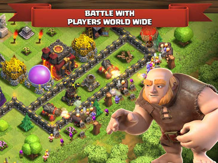 Clash-of-Clans-app-Jan-2015-update-needed