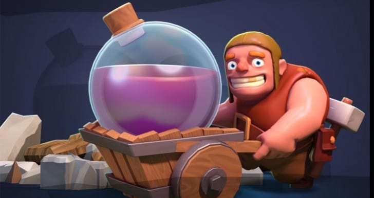 Clash of Clans Christmas 2014 update excitement