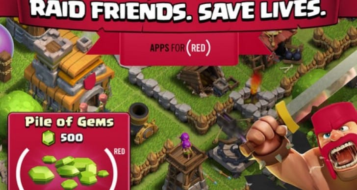 Clash of Clans iOS update with Pile of RED Gems