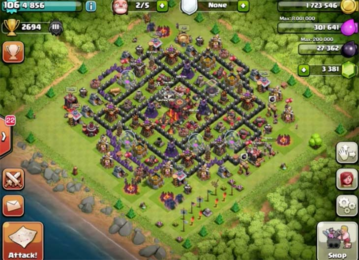 Clash-of-Clans-scary-attack-troops-strategy