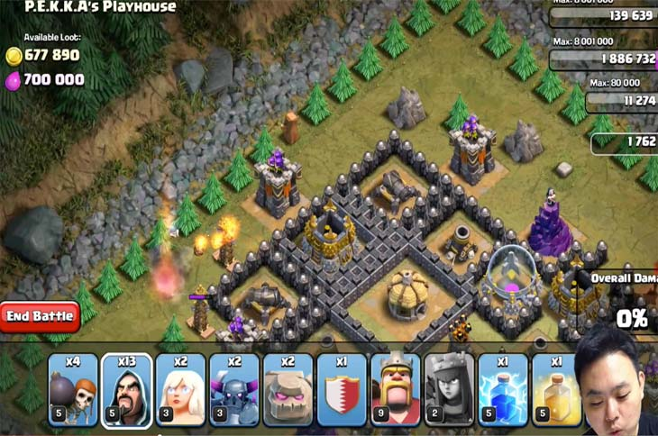 Clash-of-Clans-strategy-PEKKA