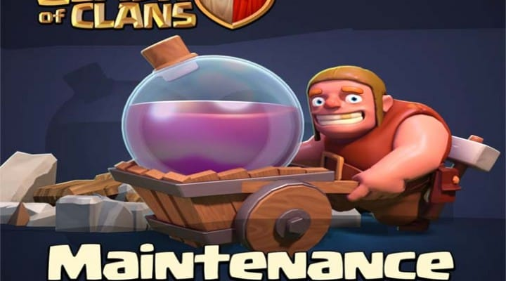 Clash of Clans not loading when switching accounts