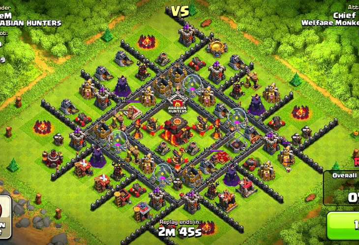 Clash of Clans version 6.108.3 improvements for iOS