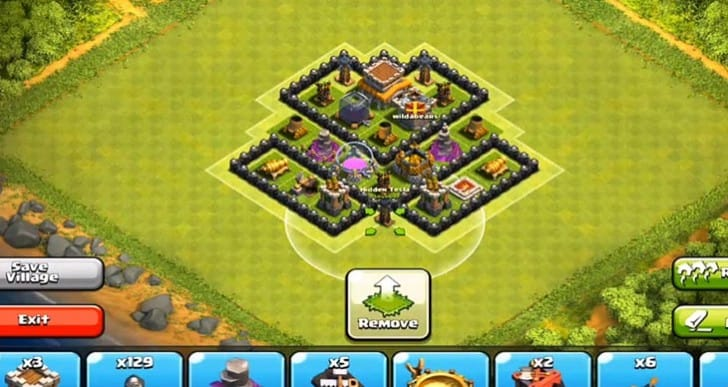 Clash of Clans visual of best Town Hall level 8 defense