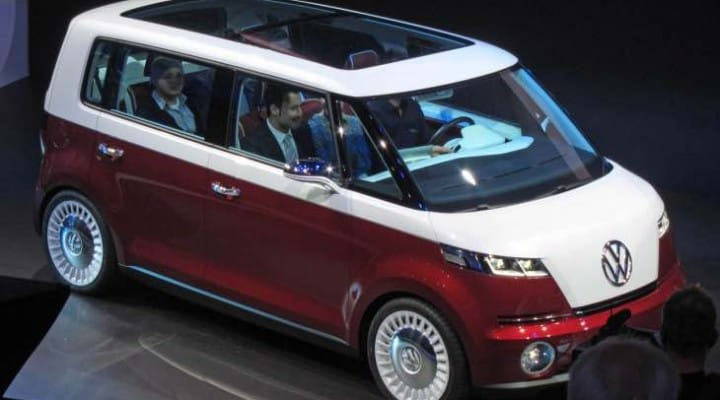 Classic VW Camper Van revival possibility, key design change