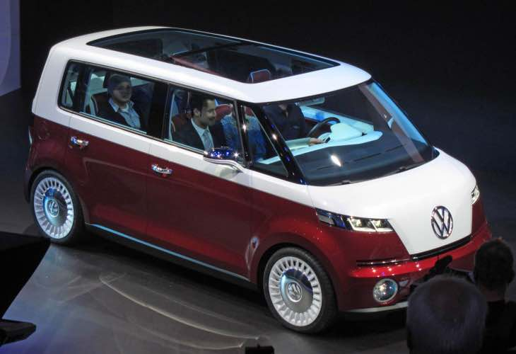 Classic VW Camper Van revival possibility, key design change