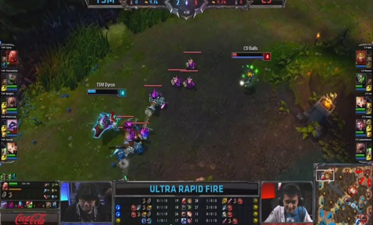 Cloud-9-vs-Team-SoloMid-Ultra-Rapid-Fire