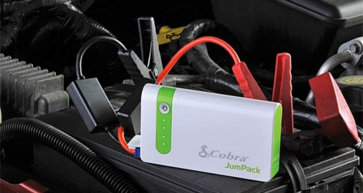 Cobra CPP 7500 JumPack portable battery released