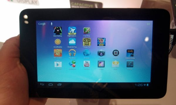 Coby MID7065 tablet has Google Play App Store access