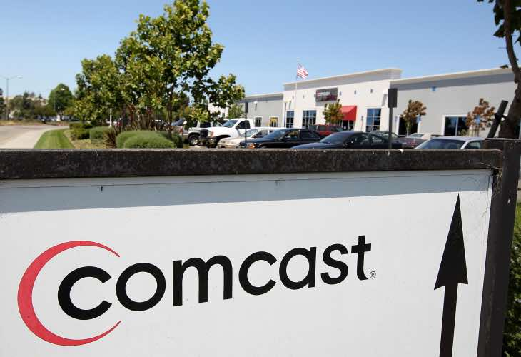 Comcast Gigabit Internet price and availability omitted