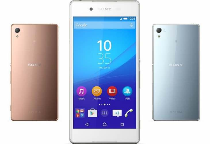 Comparable Sony Xperia Z4 Vs Galaxy S6 specs