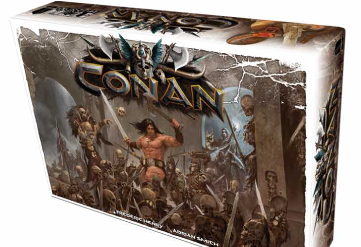 Conan board game Kickstarter price tiers