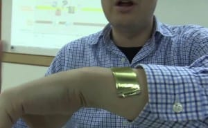 Conceivable iWatch battery visualized