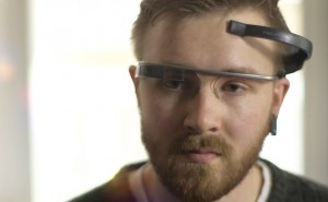 Control Google Glass social features with your mind