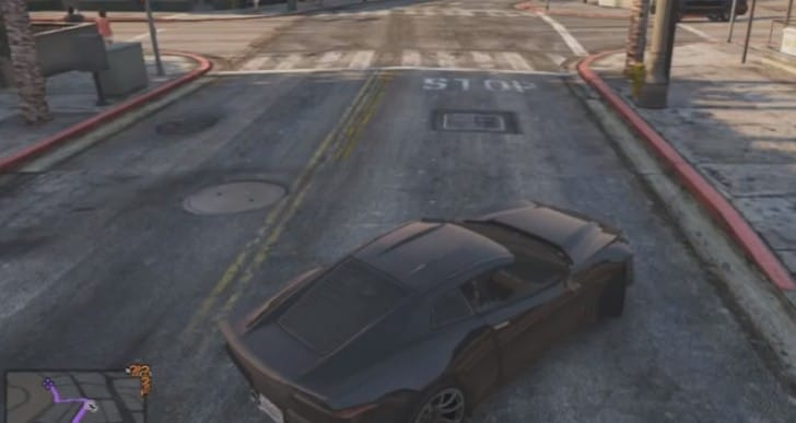 Coquette in GTA V with common locations