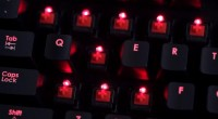 Corsair Vengeance K70 gaming keyboard up close