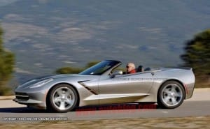 2014 Corvette Stingray Convertible made official at Chicago