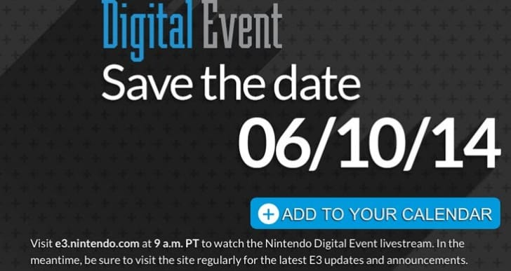 Countdown to Nintendo E3 2014 press conference