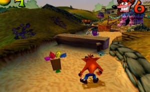 Crash Bandicoot in 2014, not Naughty Dog or Sony