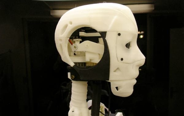 Create a robot with 3D printers