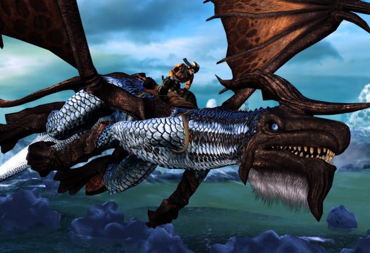 Crimson Dragon changes through updates for Xbox One release