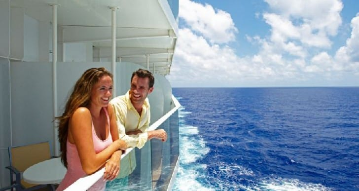Royal Caribbean Cruise uses HDTV for virtual balcony view