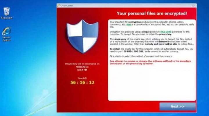Free Decrypt Cryptolocker files recovery program