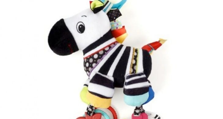 Cuddly zebra added to baby toy recalls for 2013