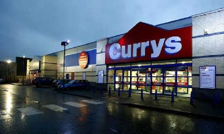 Currys & Argos holiday sales success, Xbox One, PS4 & tablets